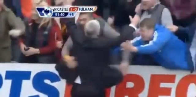 Alan Pardew celebration