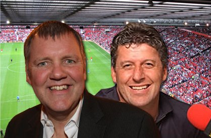 Clive Tyldesley and Andy Townsend