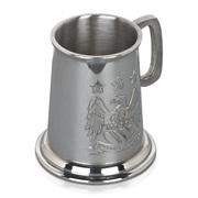 Manchester City christening mug