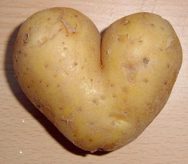 Wayne Rooney potato heart