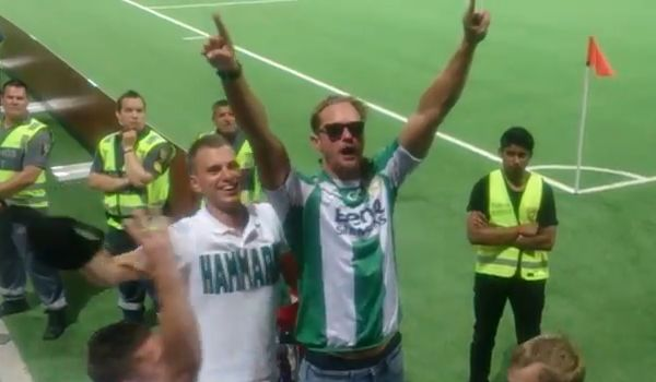 True Blood's Alexander Skarsgård Hammarby chants