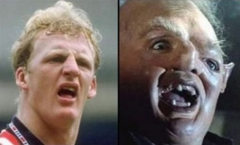 Iain Dowie and Sloth