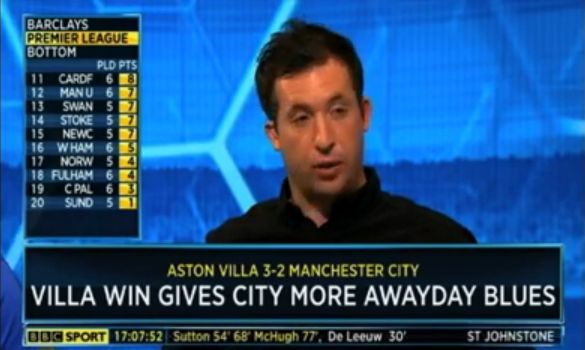 The Robbie Fowler sexist comment & apology on BBC Final Score