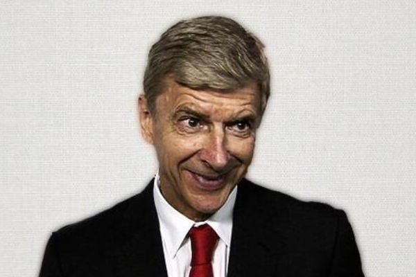 Arsène Wenger, in on of the best transfer deadline day Wenger jokes