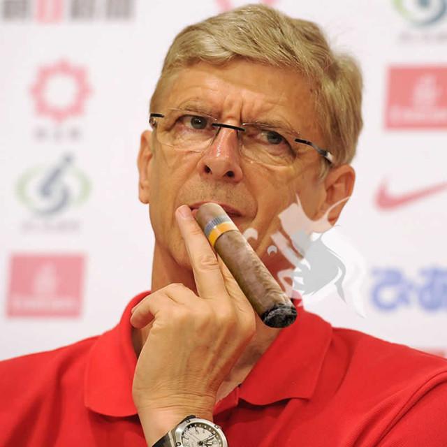 Wenger in one of the best Jack Wilshere smoking jokes