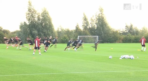 Steve McClaren can't teach the Derby players left from right on the training ground