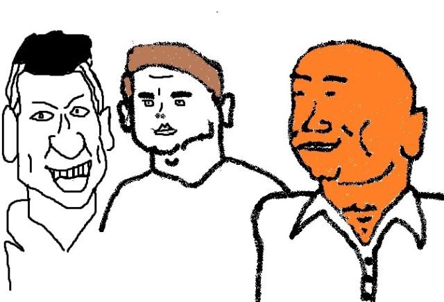 Gary Lineker, Michael Owen and Alan Shearer