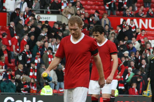 Paul Scholes, the centre of one of our favourite football coincidences
