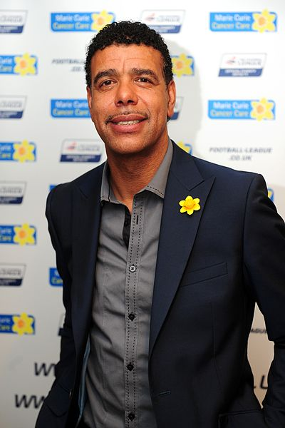 Chris Kamara, whose train courting featured in this week's Tweets of the Weekend