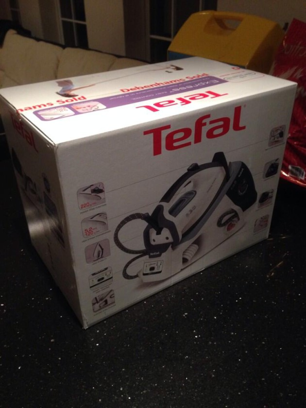Ryan Taylor buys his wife an iron for Christmas and this is it