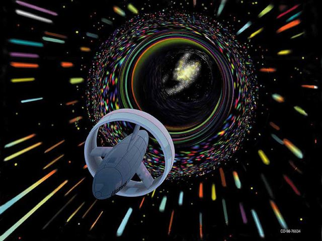 John Gregory wormhole travel