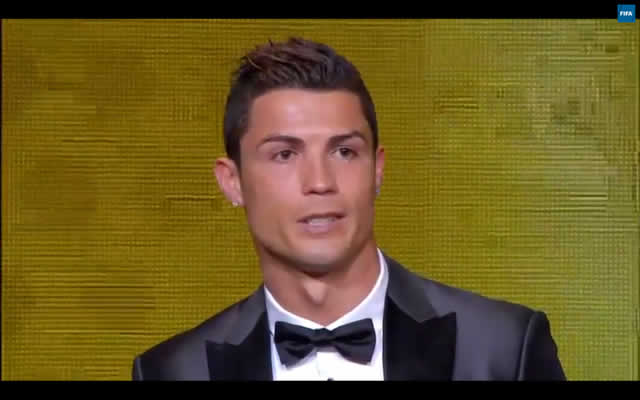 Cristiano Ronaldo, the winner and star of many of the best FIFA Ballon d'Or jokes