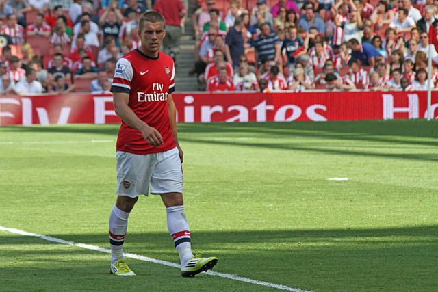Would Lukas Podolski retire or play for Spurs and other questions were answered by the Arsenal forward on Twitter