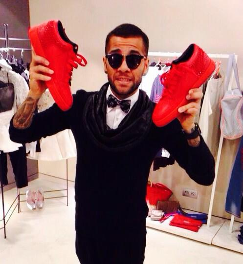 Daniel Alves, provider of one of our Tweets of the Week