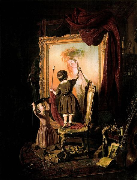 Borsos's The Artist's Dream, similar to how Jody Craddock may have look when painting in Tweets of the Weekend