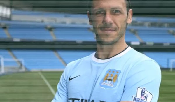 The subject of many Martín Demichelis jokes from Manchester City v Chelsea