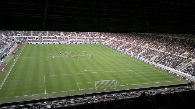 St James's Park, comedy sidekick to the Alan Pardew contract