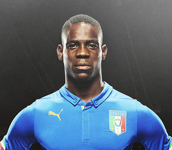 Italy's Mario Balotelli tweeted one of the Tweets of the Weekend