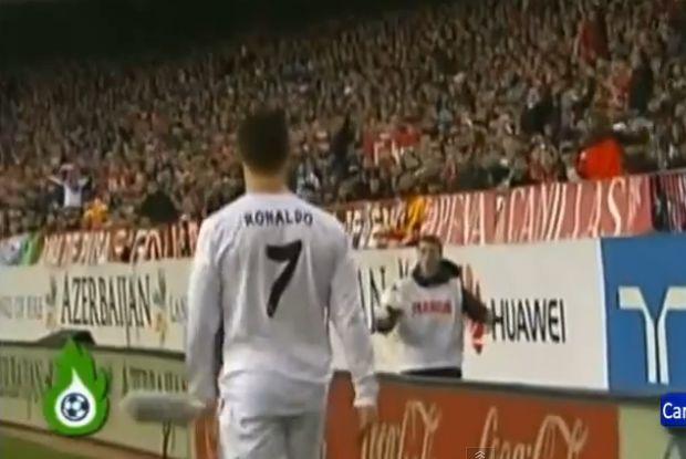 The Cristiano Ronaldo ball boy altercation against Atlético Madrid