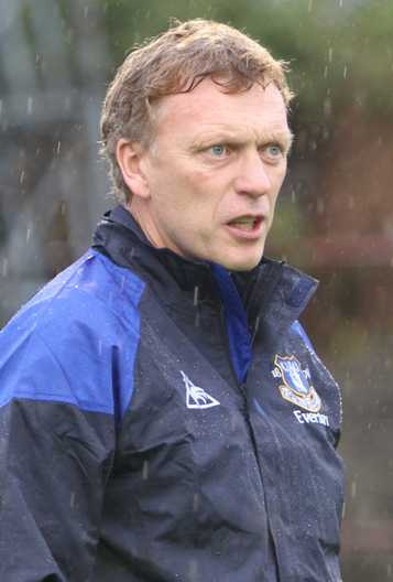 Sad David Moyes