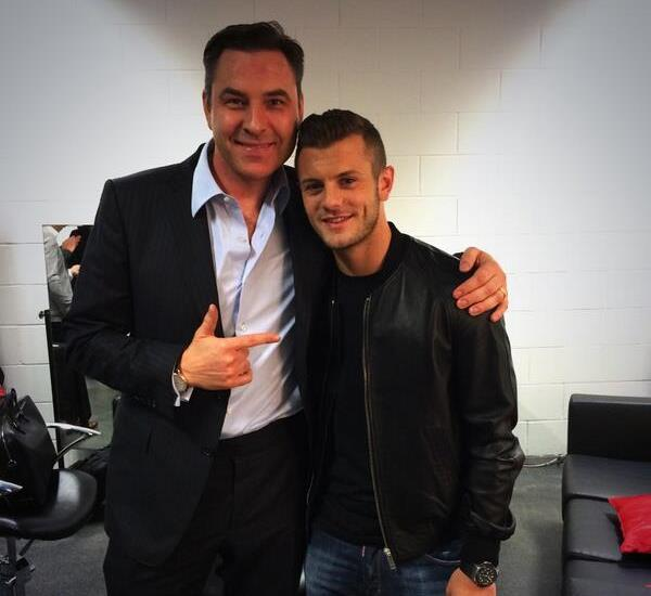 David Walliams and Jack Wilshere, central to one of our Tweets of the Week