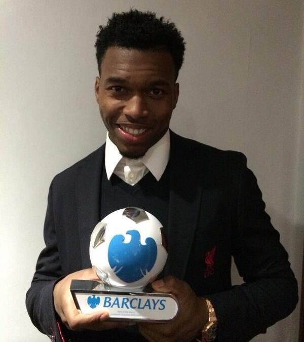 Daniel Sturridge, main exponent of the Sturridge dance