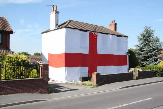 Whoever lives here will not be pleased to hear the England World Cup jokes