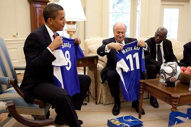 Sepp Blatter racism free as you can see