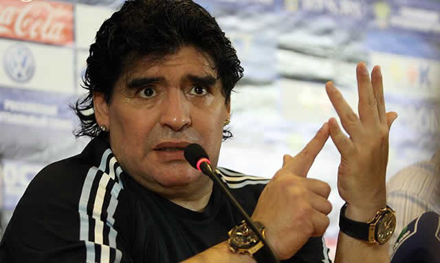 Diego Maradona, will he be thanked for the World Cup being back?