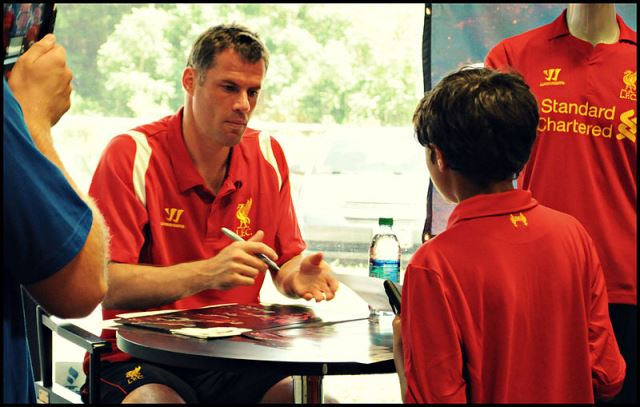Liverpool signings forced Carragher into retirement