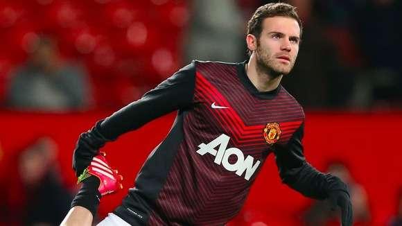 Juan Mata, a forecasted goal-scorer in Meggo's Man Utd v Swansea score prediction