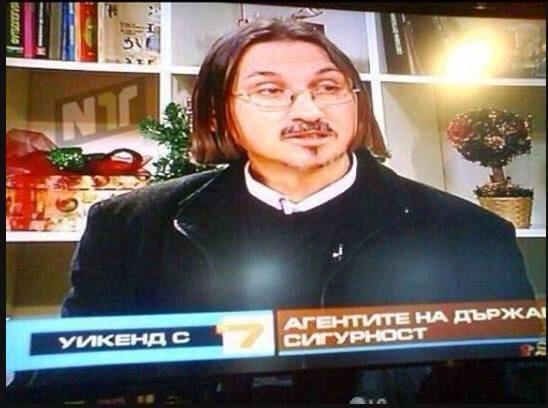 Zlatan Ibrahimović lookalike Hristo Hristov, a Bulgarian journalist