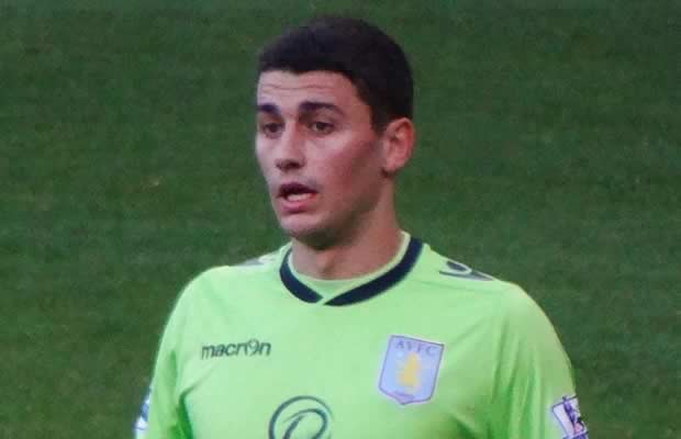 Aston Villa's Matt Lowton sent his wife home from the 2-0 defeat to QPR at Loftus Road and was not arguing with the fans as was originally thought