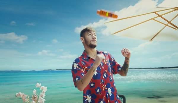 Neymar in the new Barcelona Qatar Airways advert - The FCB Holiday