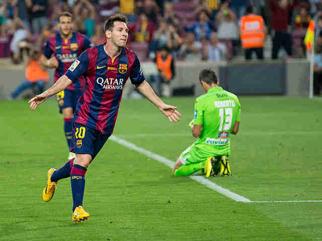 Lionel Messi wonder goal was brought to you by this guy