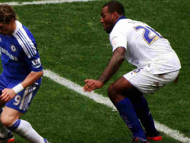 Wes Morgan is one of the Leicester City players who seems nice