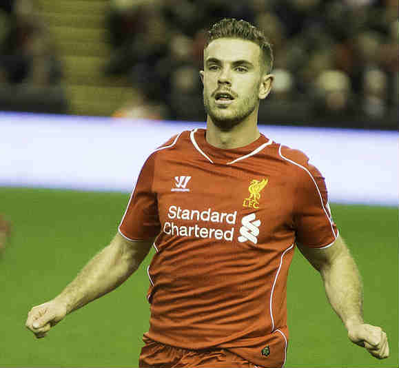 Jordan Henderson, one of our Liverpool bargains for the 2015-16 FPL season