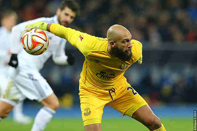 Tim Howard, one of our Fantasy Premier League bargains for 2015-16 goalkeepers