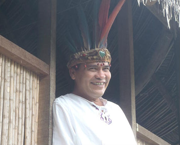 Peruvian shaman, not the one who tried to curse Alexis Sánchez with a turtle