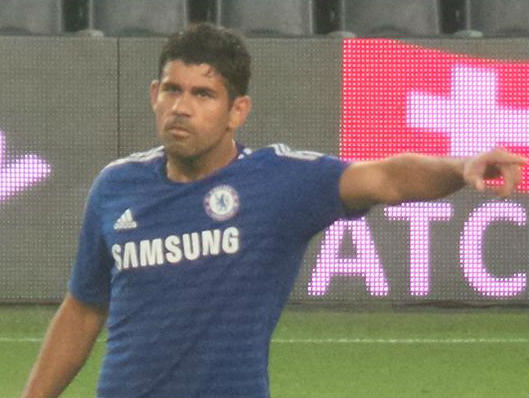 These funny Diego Costa videos show off this guy's playful side