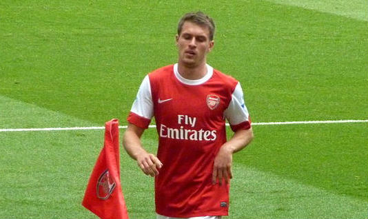 This man is the carrier of the Aaron Ramsey curse that struck down David Bowie and Alan Rickman