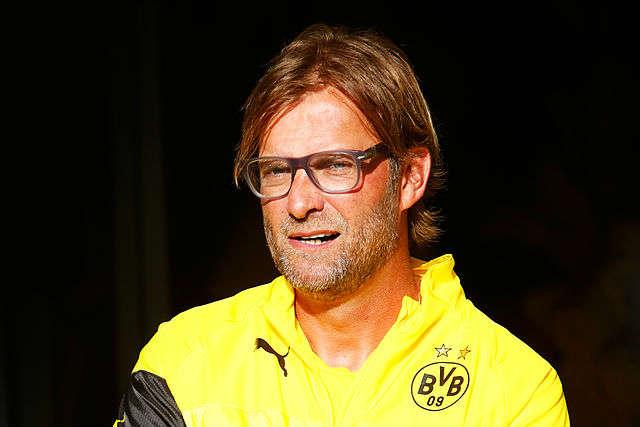 Jürgen Klopp was central to several of these Liverpool v Dortmund jokes