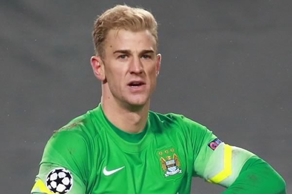 Joe Hart won't mind hearing the jokes after his praised performance in Manchester City's Champions League semi-final first leg 0-0 draw with Real Madrid