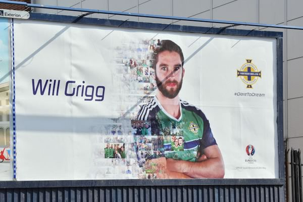 There were many Will Grigg's on fire jokes as Northern Ireland were knocked out of Euro 2016 with a 1-0 defeat to Wales