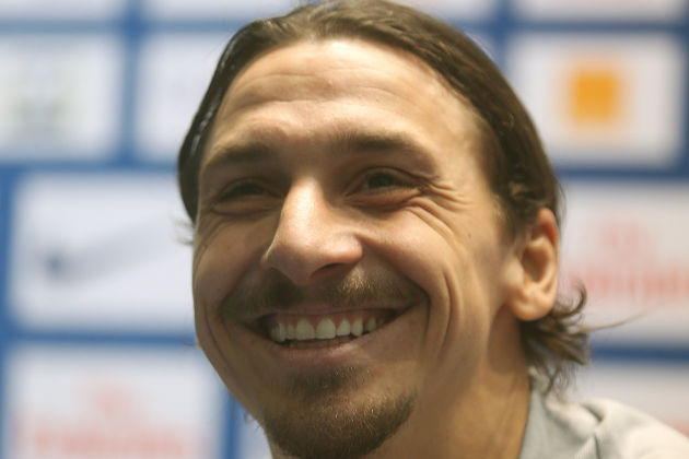 Zlatan will be pleased to take the shirt number and probably to hear the Anthony Martial number nine jokes too after Man Utd's announcement