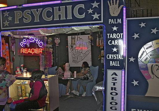"A Mansfield Town clairvoyant event was cancelled ""due to unforeseen circumstances"""