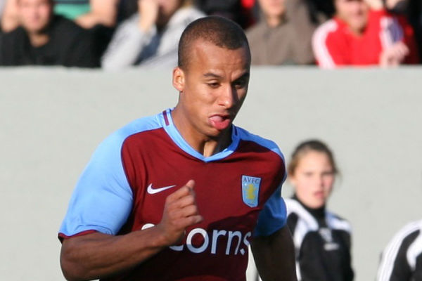 Gabriel Agbonlahor flatted Louis Tomlinson in one of these charity match bust-ups