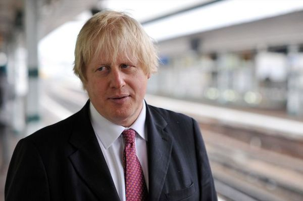 Oldham fans spotted a Boris Johnson lookalike steward at Rochdale during their 1-0 defeat