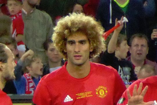 There were jokes as Marouane Fellaini booed by Man Utd fans at Old Trafford after coming on as a substitute during their 1-0 win against Spurs