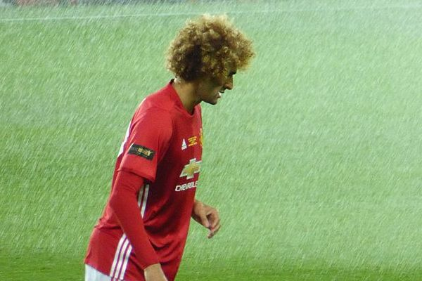 There were jokes after Manchester United's Marouane Fellaini gave away a late penalty in the 1-1 draw at Everton
